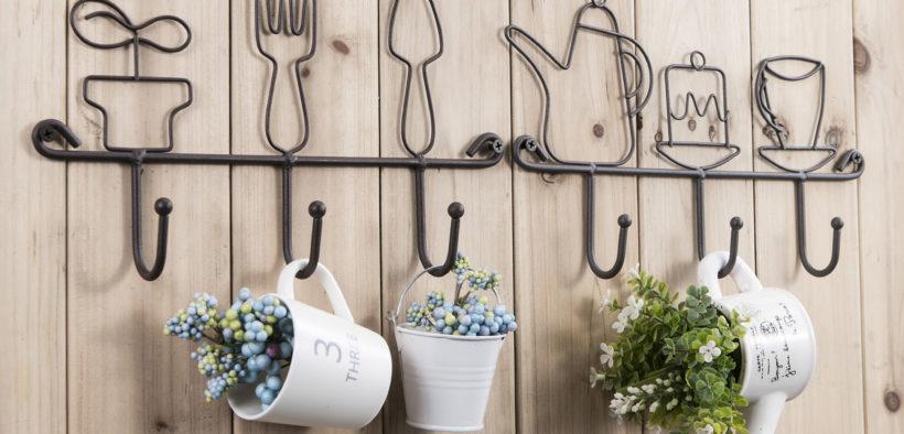 cute kitchen wall hooks rack - primopreneur